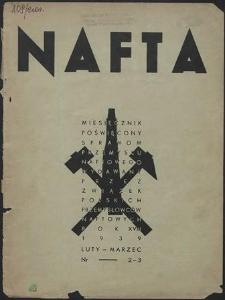 Nafta 1939 : z. 2, 3, 7