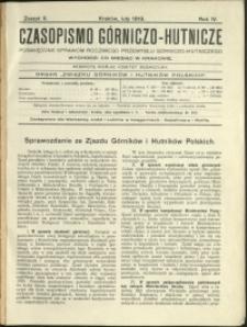 Czasopismo Górniczo-Hutnicze : 1919 : z. 2