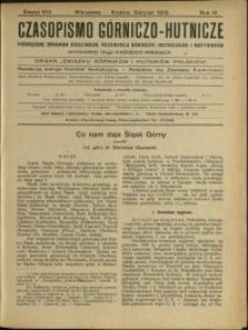 Czasopismo Górniczo-Hutnicze : 1919 : z. 8