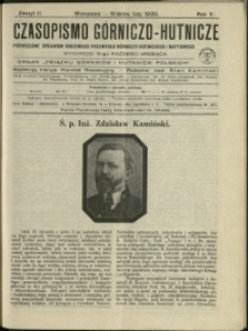 Czasopismo Górniczo-Hutnicze : 1920 : z. 2