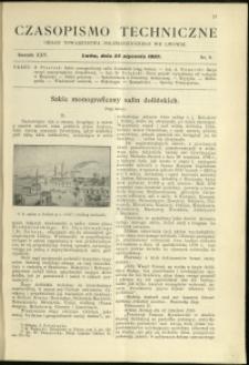 Czasopismo Techniczne : 1907 : nr 2