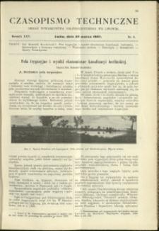 Czasopismo Techniczne : 1907 : nr 6