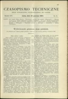 Czasopismo Techniczne : 1907 : nr 12