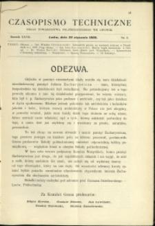 Czasopismo Techniczne : 1909 : nr 2