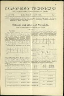 Czasopismo Techniczne : 1909 : nr 8