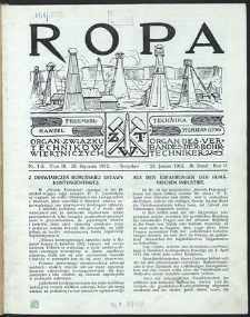 Ropa 1912