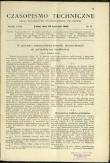 Czasopismo Techniczne : 1909 : nr 12