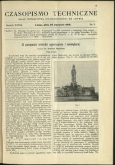 Czasopismo Techniczne : 1910 : nr 2