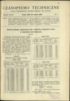Czasopismo Techniczne : 1910 : nr 6