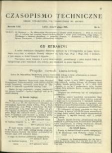 Czasopismo Techniczne : 1912 : nr 3