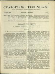 Czasopismo Techniczne : 1912 : nr 6