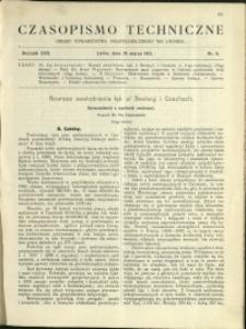 Czasopismo Techniczne : 1912 : nr 8