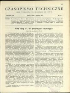 Czasopismo Techniczne : 1912 : nr 15
