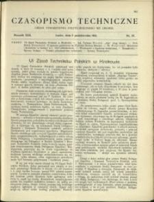 Czasopismo Techniczne : 1912 : nr 27