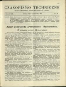 Czasopismo Techniczne : 1912 : nr 28