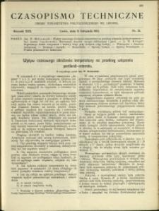 Czasopismo Techniczne : 1912 : nr 31