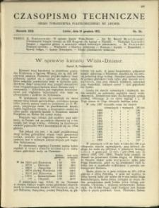 Czasopismo Techniczne : 1912 : nr 34