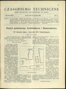 Czasopismo Techniczne : 1913 : nr 2