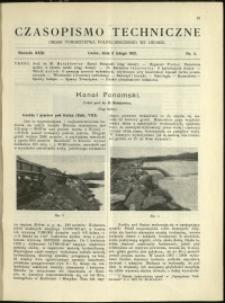 Czasopismo Techniczne : 1913 : nr 4