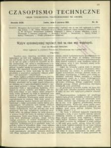Czasopismo Techniczne : 1913 : nr 16