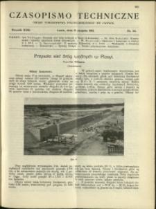 Czasopismo Techniczne : 1913 : nr 23