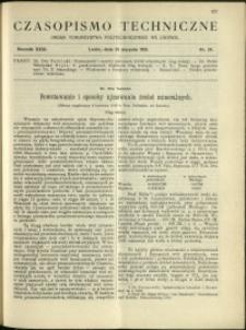 Czasopismo Techniczne : 1913 : nr 24