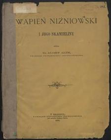 Wapień niżniowski i jego skamieliny