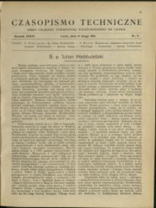 Czasopismo Techniczne : 1918 : nr 3