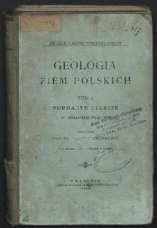 Geologia ziem polskich T. 1, Formacye starsze do jurajskiej włącznie