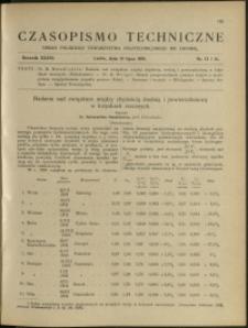 Czasopismo Techniczne : 1918 : nr 13 i 14