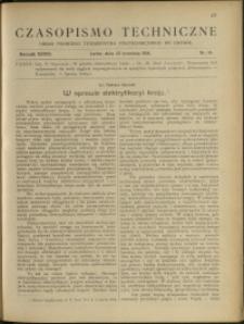 Czasopismo Techniczne : 1918 : nr 18