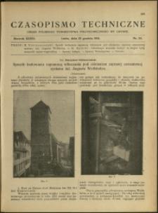 Czasopismo Techniczne : 1918 : nr 24