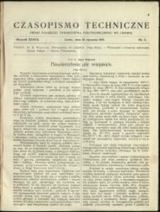 Czasopismo Techniczne : 1919 : nr 2