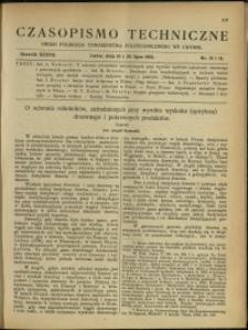 Czasopismo Techniczne : 1919 : nr 13 i 14