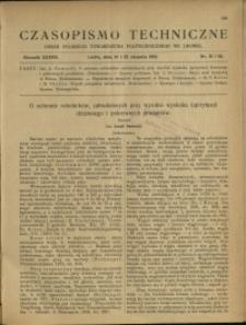 Czasopismo Techniczne : 1919 : nr 15 i 16