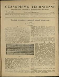 Czasopismo Techniczne : 1919 : nr 24