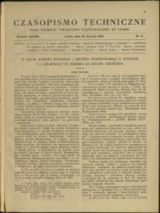 Czasopismo Techniczne : 1920 : nr 2