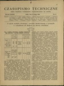Czasopismo Techniczne : 1920 : nr 3