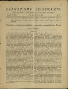 Czasopismo Techniczne : 1920 : nr 5