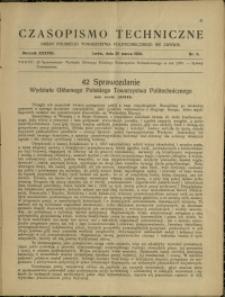 Czasopismo Techniczne : 1920 : nr 6