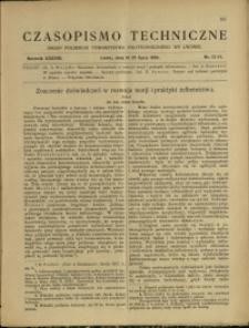 Czasopismo Techniczne : 1920 : nr 13 i 14