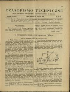 Czasopismo Techniczne : 1920 : nr 15 i 16
