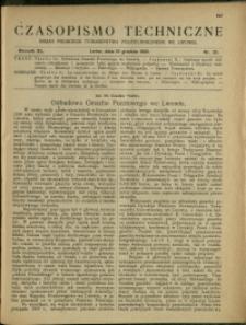 Czasopismo Techniczne : 1922 : nr 23