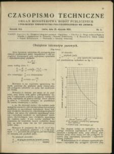 Czasopismo Techniczne : 1923 : nr 2