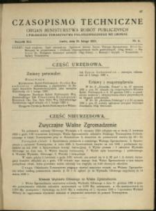 Czasopismo Techniczne : 1923 : nr 4