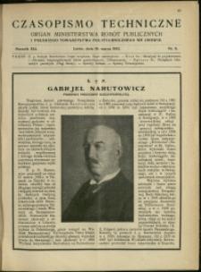 Czasopismo Techniczne : 1923 : nr 5