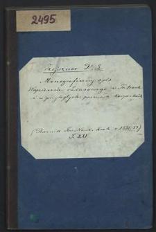 Monograficzny opis wapienia liasowego w Tatrach i w przyległych pasmach karpackich