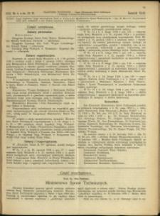 Czasopismo Techniczne : 1924 : nr 4