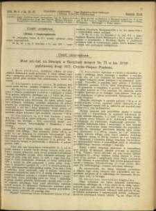 Czasopismo Techniczne : 1924 : nr 8