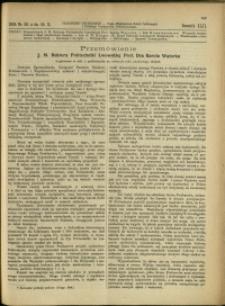 Czasopismo Techniczne : 1924 : nr 20